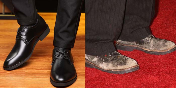 Новые туфли и старые