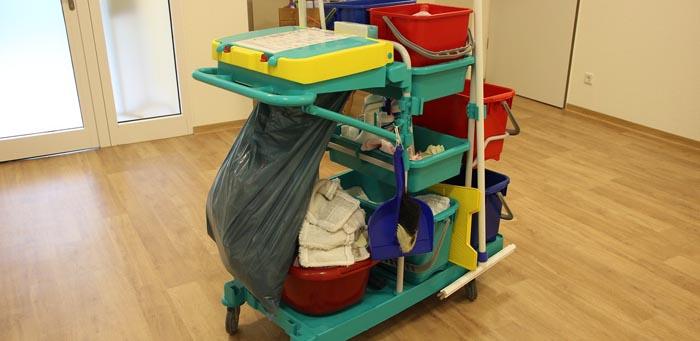 Тележка для уборки