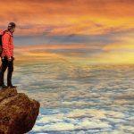Человек на горе