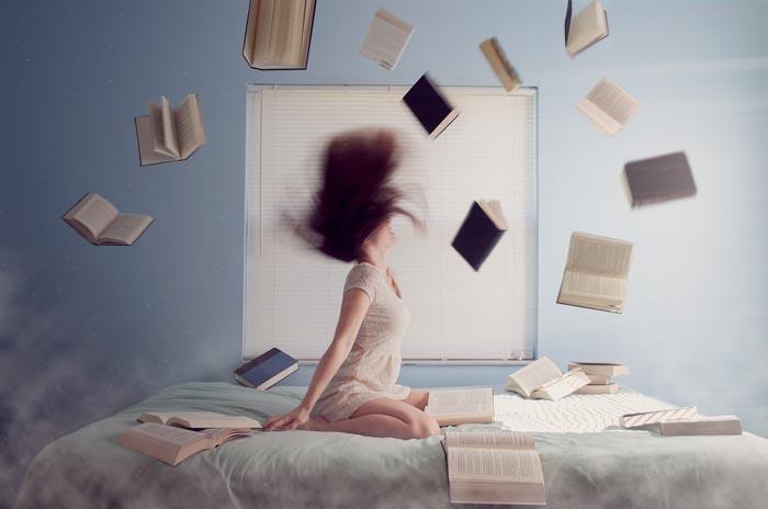 Летящие книги